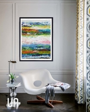 Как выбрать и оформить картины для гостиной