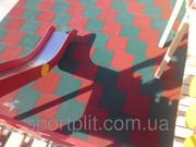 Резиновая плитка для детских,  игровых,  спортивных площадок,  тренажёрны
