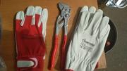 Кожаные профессиональные перчатки. - foto 2