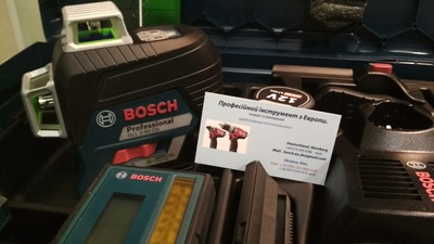 Лазерный уровень BOSCH GLL 3-80 CG Professional. - main
