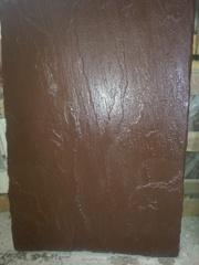 Устойчивая, фирменная твердая  плитка 90*60*3 см,   коричневый оттенок