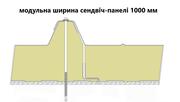 Седвіч-панелі дахові поліуретан (PUR) та пінополіізоціанурат (PIR) - foto 0