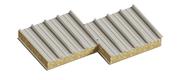 Седвіч-панелі дахові з наповнювачем мінеральна базальтова вата