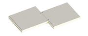 Седвіч-панелі стінові поліуретан (PUR) та пінополіізоціанурат (PIR)