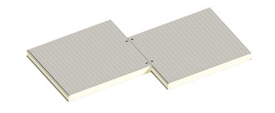 Седвіч-панелі стінові поліуретан (PUR) та пінополіізоціанурат (PIR) - main