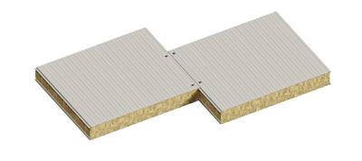 Седвіч-панелі стінові з наповнювачем мінеральна базальтова вата - main