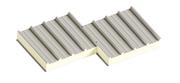 Седвіч-панелі дахові поліуретан (PUR) та пінополіізоціанурат (PIR)
