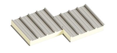 Седвіч-панелі дахові поліуретан (PUR) та пінополіізоціанурат (PIR) - main