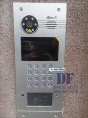 Установка цифровой многоквартирной домофонной системы BAS-IP