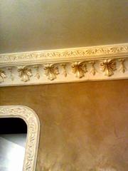 Нанесение декоративной штукатурки Киев,  веницианка,  роспись лепнины - foto 1