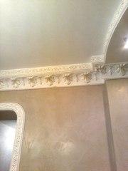 Нанесение декоративной штукатурки Киев,  веницианка,  роспись лепнины - foto 3