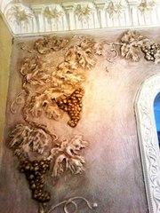Нанесение декоративной штукатурки Киев,  веницианка,  роспись лепнины - foto 4