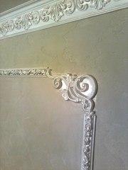 Нанесение декоративной штукатурки Киев,  веницианка,  роспись лепнины - foto 7