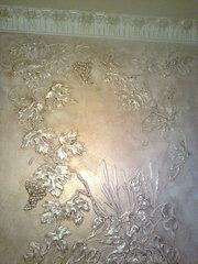 Нанесение декоративной штукатурки Киев,  веницианка,  роспись лепнины - foto 16