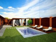 Визуализация фасадов коттеджей , домов , магазинов , кафе , террас - foto 1