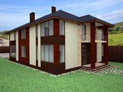 Визуализация фасадов коттеджей , домов , магазинов , кафе , террас - foto 4