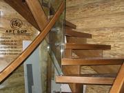 Деревянные лестницы для ДОМА и КВАРТИРЫ - foto 0