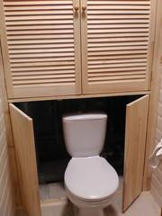 шкаф в туалет - foto 2