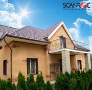 Энергосберегающая фасадная система SCANROC - foto 0