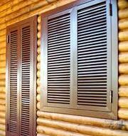 Защитные металлические ставни для окон и дверей. - foto 1