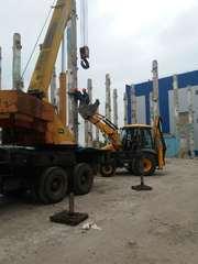 Строительство, демонтаж промышленных зданий и сооружений.Земляные работ