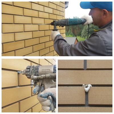 Утепление пенополиуретаном стен дома в воздушную полость - main