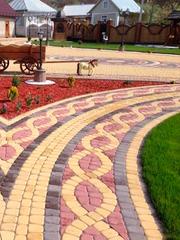 Тротуарная плитка «Старый город» с укладкой по Киеву и области