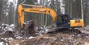 Корчевание пней,  чистка водоемов,  планировка участков,  Киев